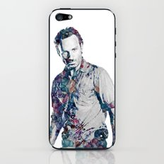 Rick Grimes iPhone & iPod Skin