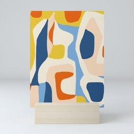 Me & Mine #abstract #painting Mini Art Print
