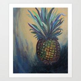Classic Pineapple Art Print