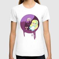 wonderland T-shirts featuring Wonderland by Juliana E. Gonzalez