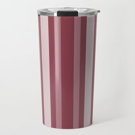 Dark Rose Victorian Lady Stripe Travel Mug