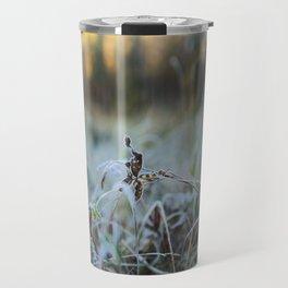 Bokeh Grass Travel Mug