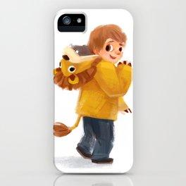 Beckam Lion iPhone Case