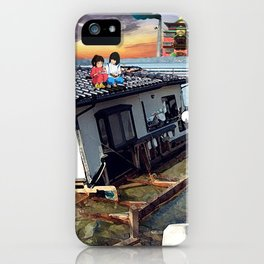 Beyond the Sea - Spirited Away / Ponyo Tsunami Series iPhone Case