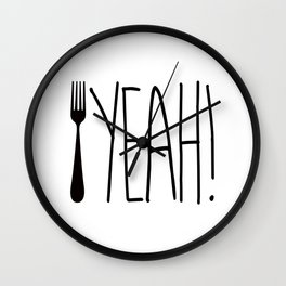 Fork Yeah! Wall Clock