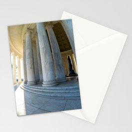 Round Jefferson Stationery Cards
