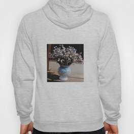 A bouquet with forget me not - PHOTO Hoody
