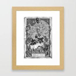 Hunting Prince Dracula Framed Art Print