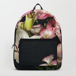 Elegant floral composition Backpack