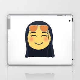 Nico Robin Emoji Design Laptop & iPad Skin