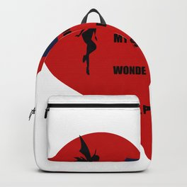 the heart is vain Backpack