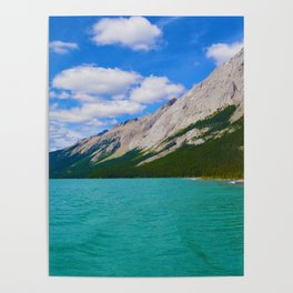 Maligne Lake in Jasper National Park, Canada Poster
