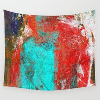 picasso Wall Tapestries featuring Picasso by Fernando Vieira