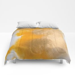Gold Untitled 2 Comforters
