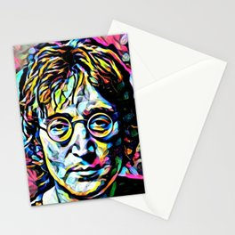 John Len non Imagine Stationery Cards