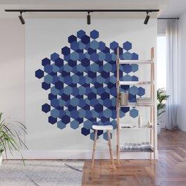 Hexagons Wall Mural