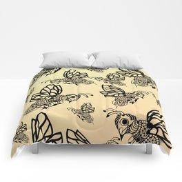 Honey Bee Pattern Comforters