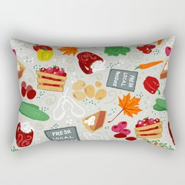 Farmer's Market Rectangular Pillow