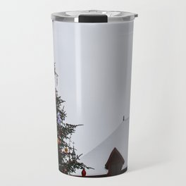Chistmas in Old Quebec Travel Mug
