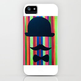 Proper Gentleman iPhone Case