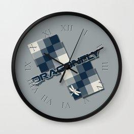 Seminole Dragonfly Wall Clock