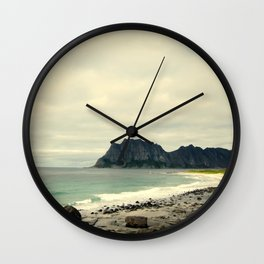 Beach Cliff Wall Clock