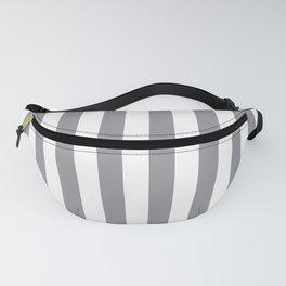Vertical Grey Stripes Fanny Pack