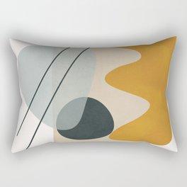 Abstract Shapes No.27 Rectangular Pillow