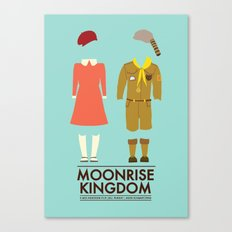 Moonrise Kingdom Poster Canvas Print