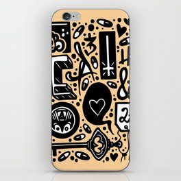 Beat and Love iPhone Skin