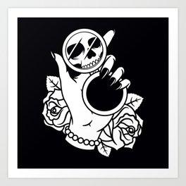 Dead on The Inside Art Print