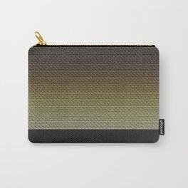 Golden Snakeskin Carry-All Pouch