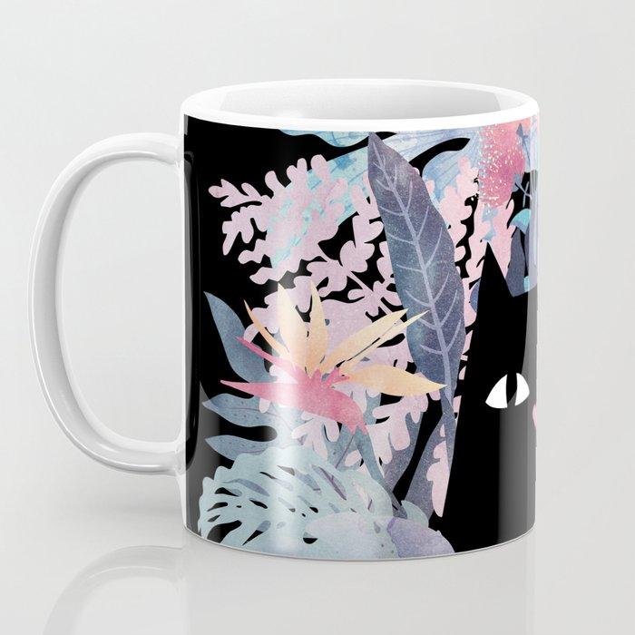 Popoki (Pastel Black Velvet) Coffee Mug