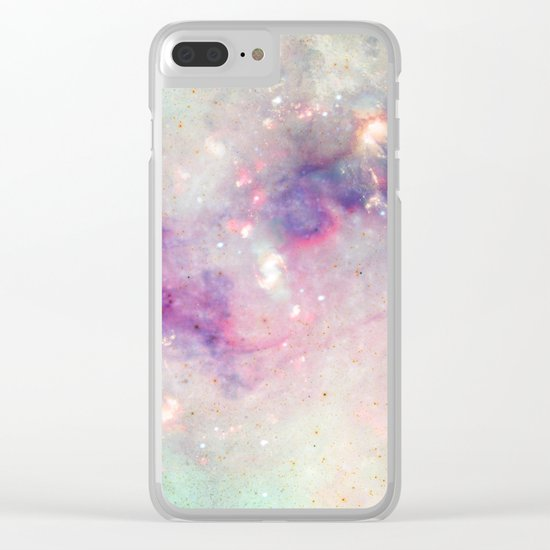 The colors of the galaxy Clear iPhone Case