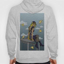 Black Canary  Hoody