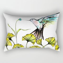 Be Still Wings, So I Can Always Remember You This Way Rectangular Pillow