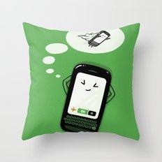 Flight Mode Throw Pillow