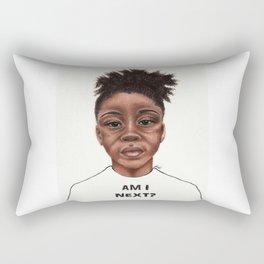 Am I Next? Rectangular Pillow