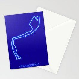 Circuit De Monaco Monte Carlo Stationery Cards