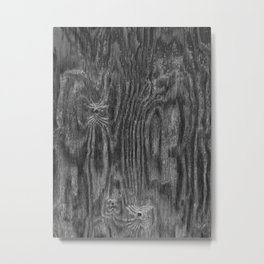 Interesting Wood Texture Metal Print