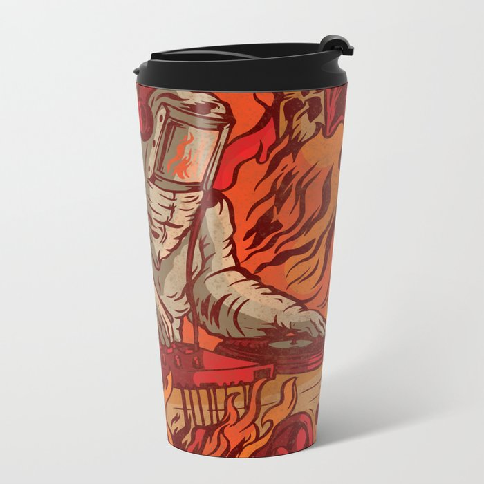 It's Lit Metal Travel Mug