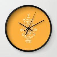 cinderella Wall Clocks featuring Cinderella by Nikita Gill