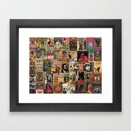 Rock'n Roll Stories Framed Art Print