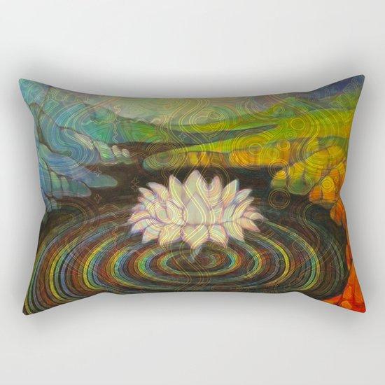 Earth-and-Sky Rectangular Pillow