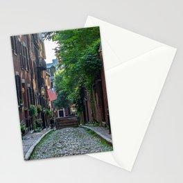 Boston Brick Townhouses Stationery Cards