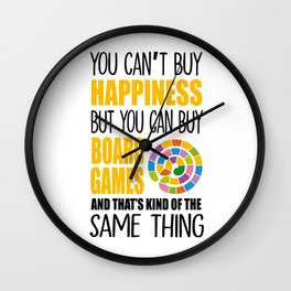 Board Games Gamer Dice RPG Tabletop gifts Wall Clock
