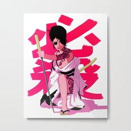 Lady Nightshade Metal Print