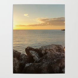 Sunrise at Fuengirola Poster