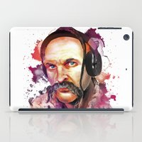 charli xcx iPad Cases featuring Cossack Ivan Sirko listen music by Sitchko Igor