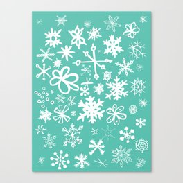 Snowflake Pond Canvas Print